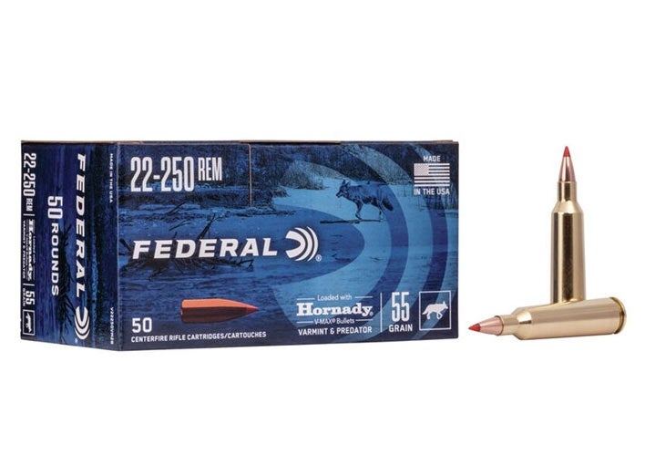 A box of Federal Premium ammunition.