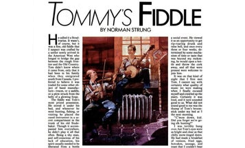 F&S Classics: Tommy's Fiddle