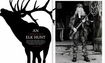 F&S Classics: An Improbable Elk Hunt