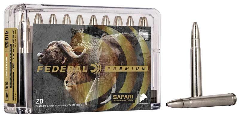Federal Premium Safari Bonded ammo box.