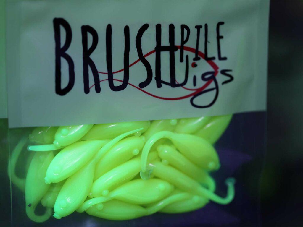 A bag of BrushPile Jigs