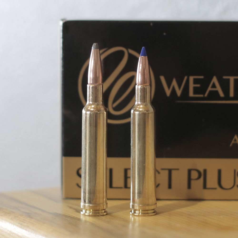 Weatherby 7mm Mag ammunition.