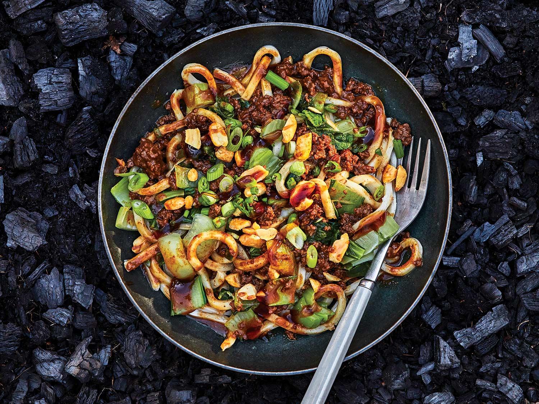 Venison Dandan Noodles