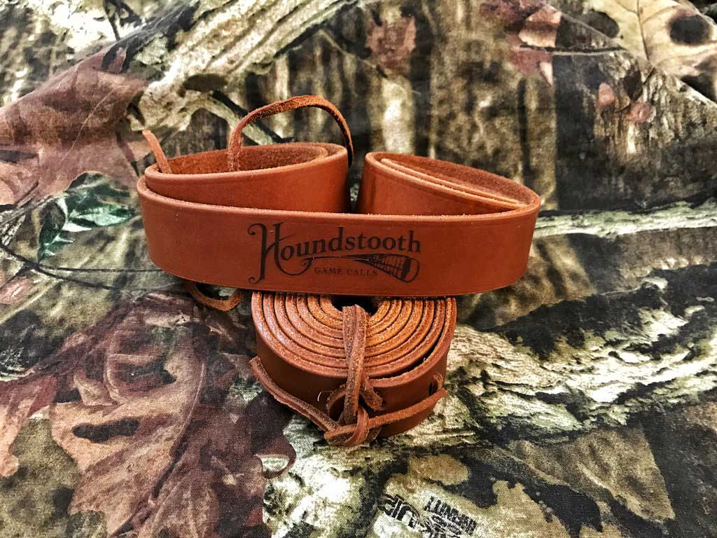 Houndstooth Leather Turkey Tote