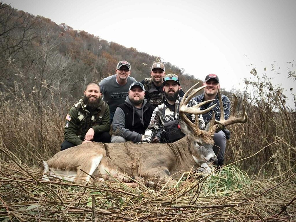 Schmit shares his hunting success with friends and family.