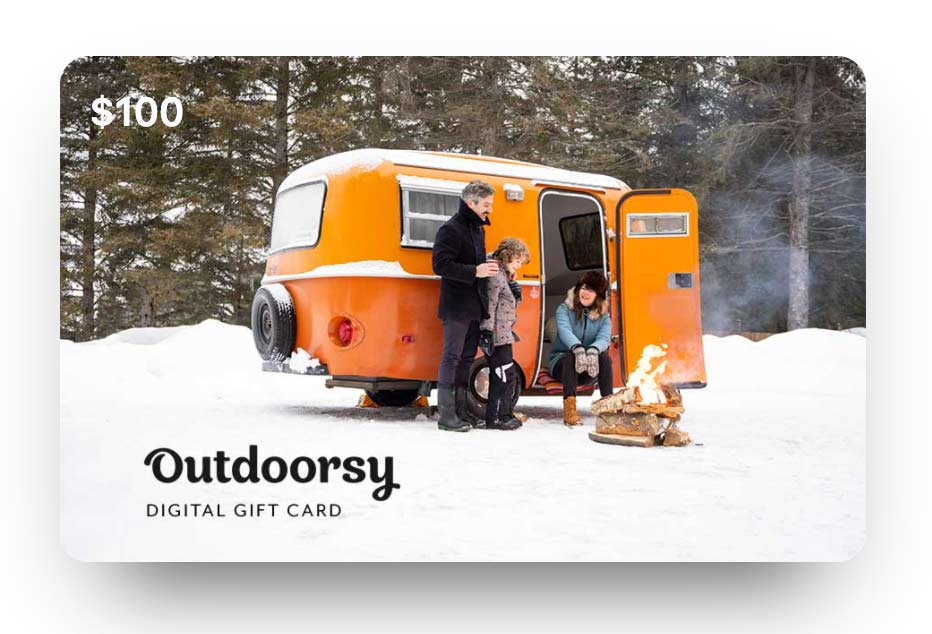 Give an Outdoorsy gift card to someone this year.