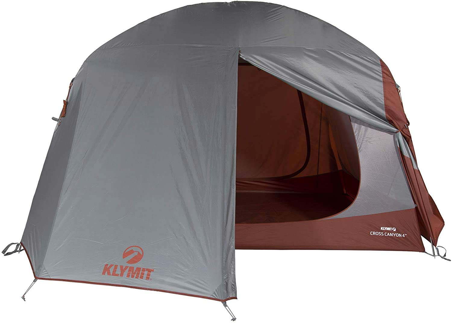 The Klymit Cross Canyon 4 Person Tent.
