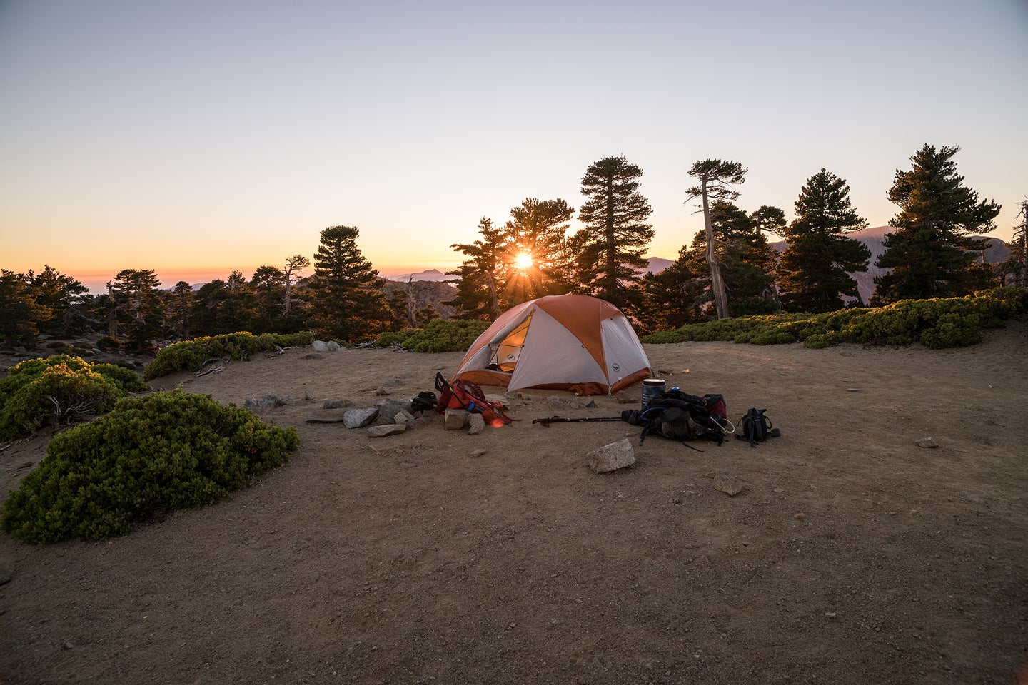 tent and campground