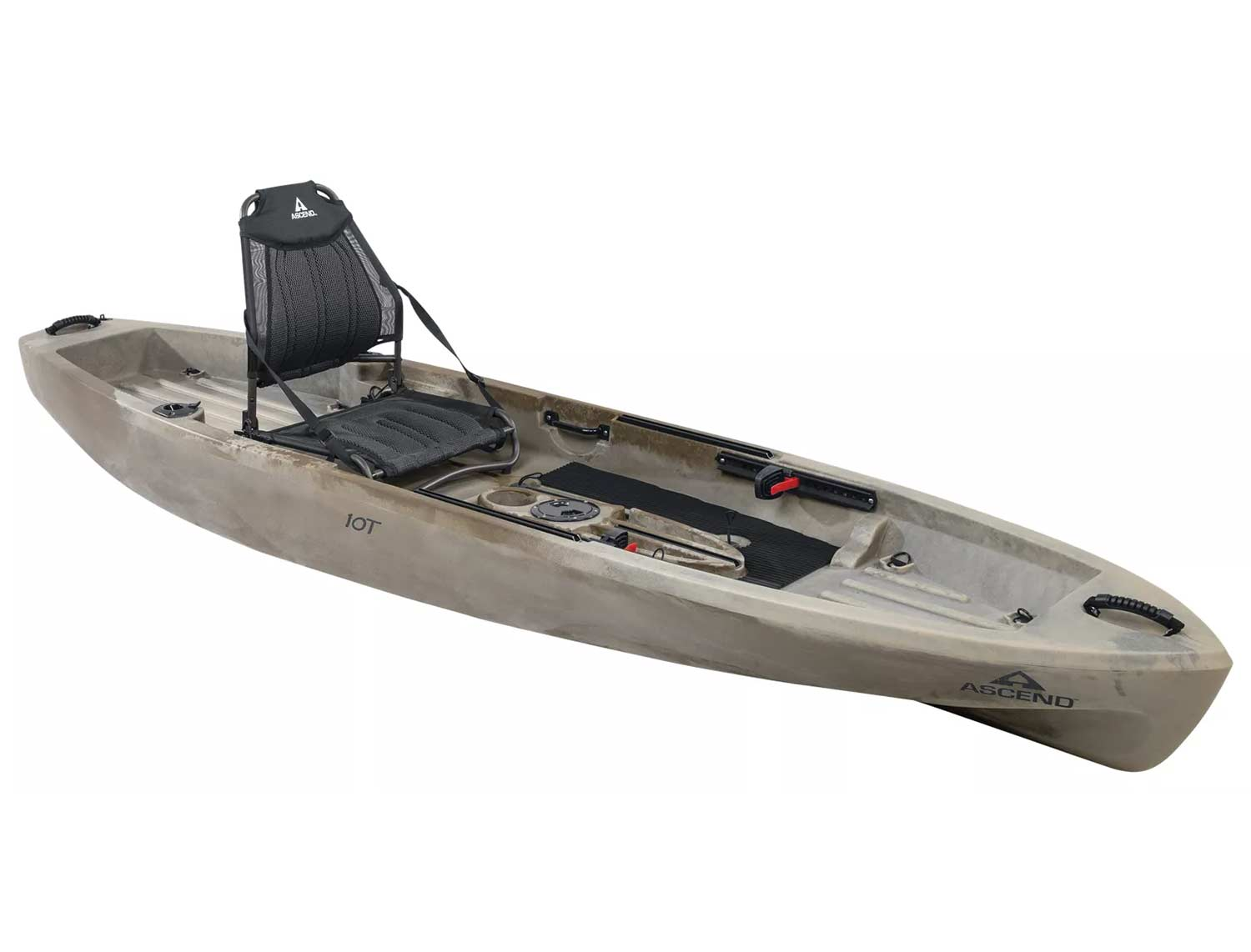 The Ascend 10T Sit-On-Top Kayak.