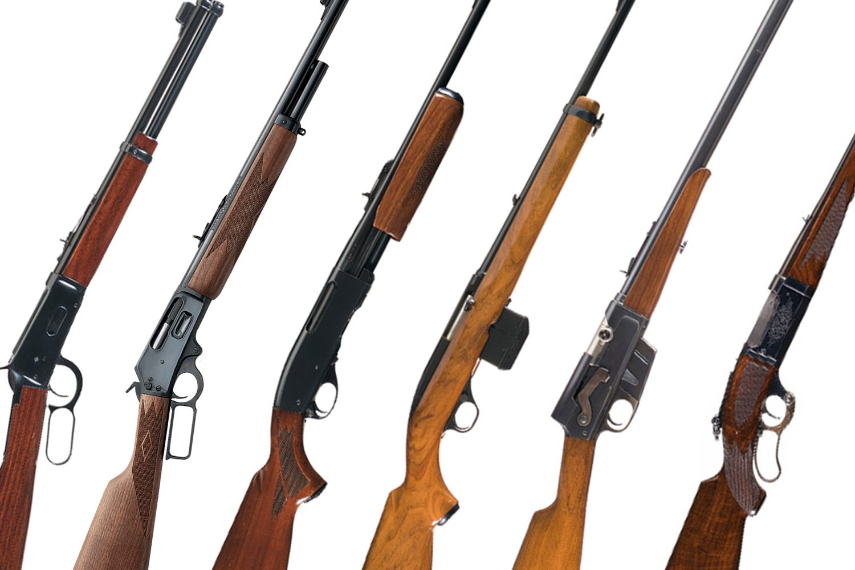 deer-tracking rifles