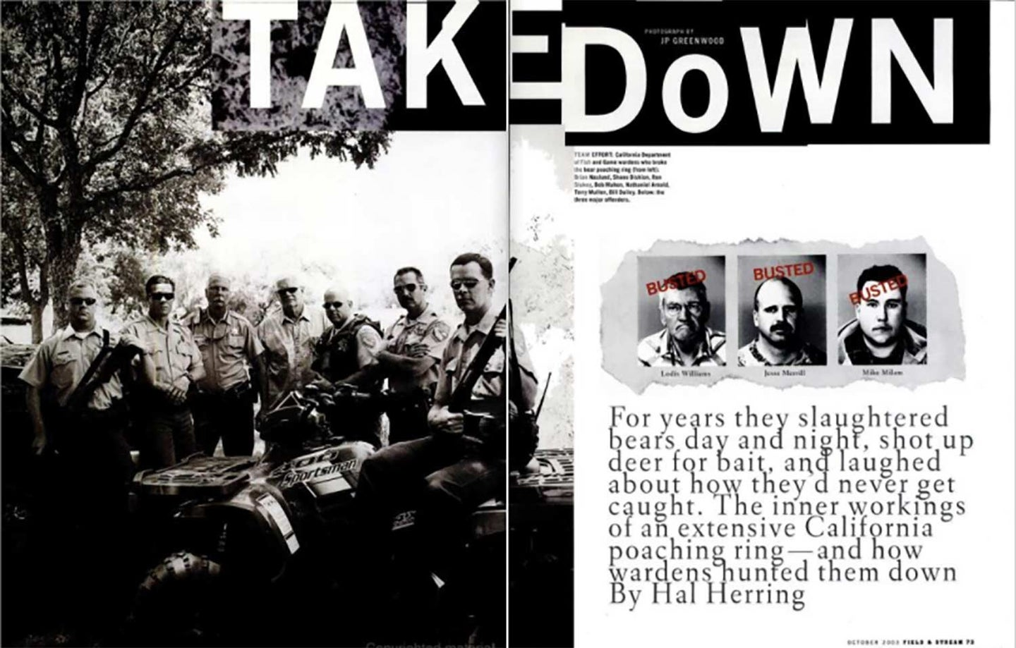 A clipping from Field & stream magazine with the headline: