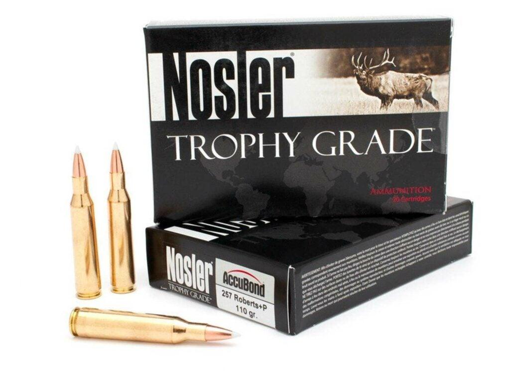 Nosler Trophy Grade .257 Roberts.