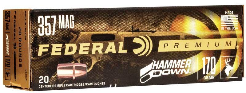 Federal Premium's new Hammer Down ammo.