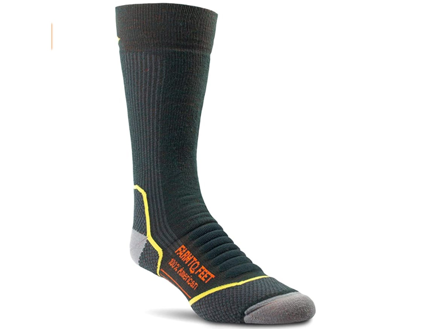 A thick pair of socks