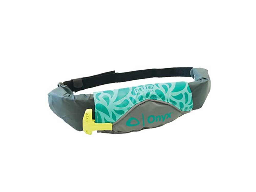 Onyx Unisex Belt Pack Manual Inflatable Life Jacket (PFD)