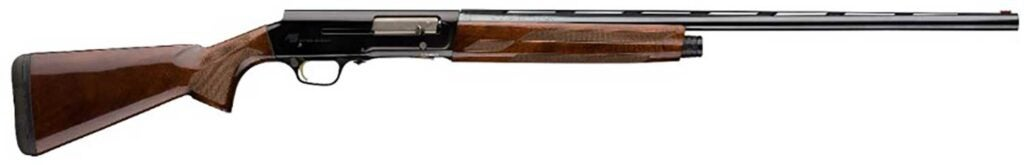 The Browning A5 Sweet Sixteen shotgun.