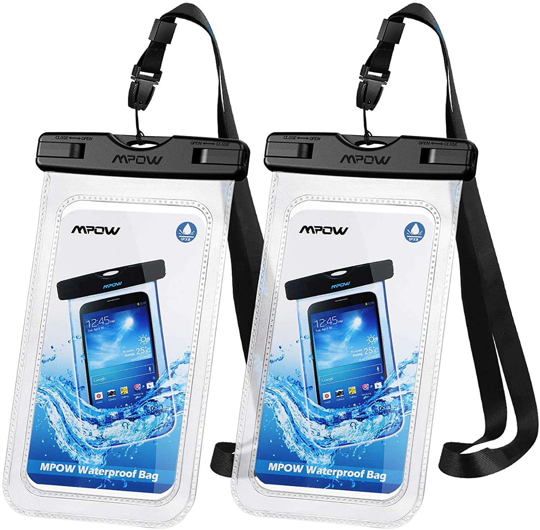 Waterproof phone pouch that still works underwater