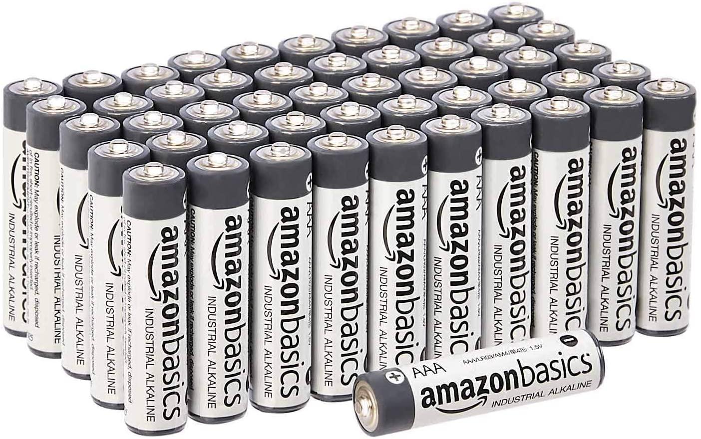Amazon alkaline AAA batteries