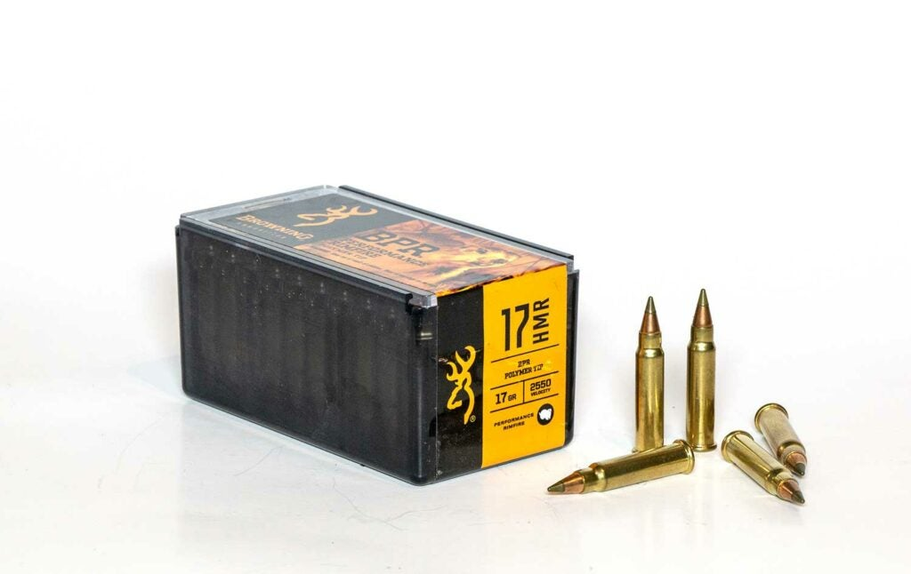 A box of ammo on a white background.