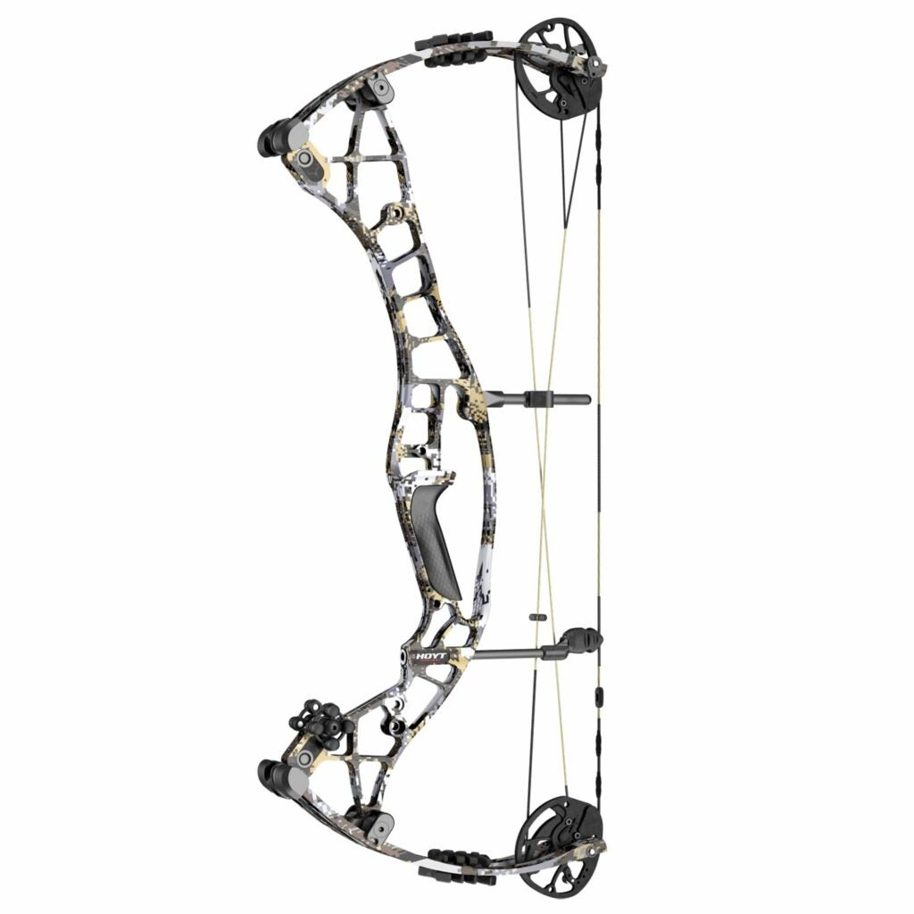 The Hoyt Eclipse Compound bow on a white background.