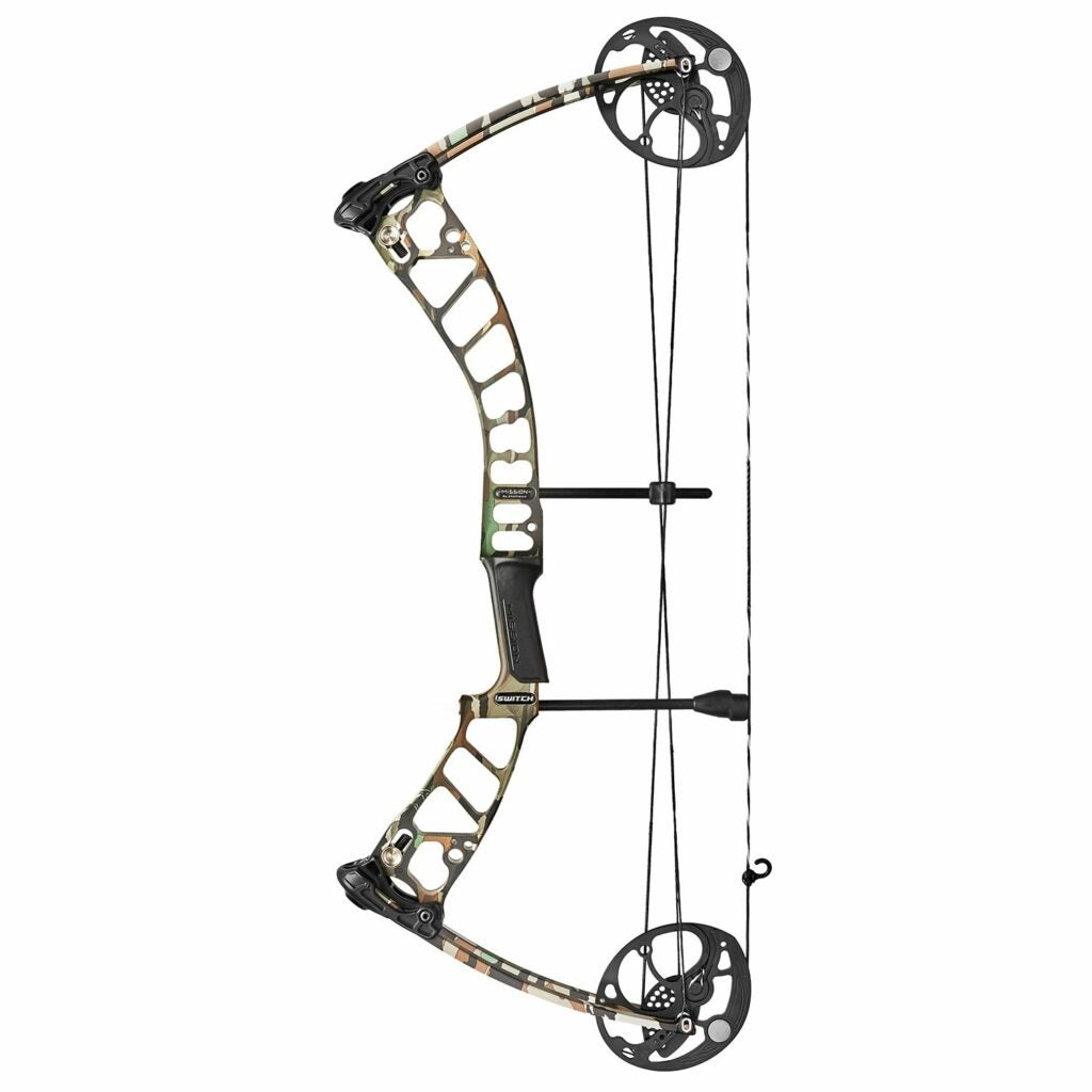The new Mission Switch compound bow.