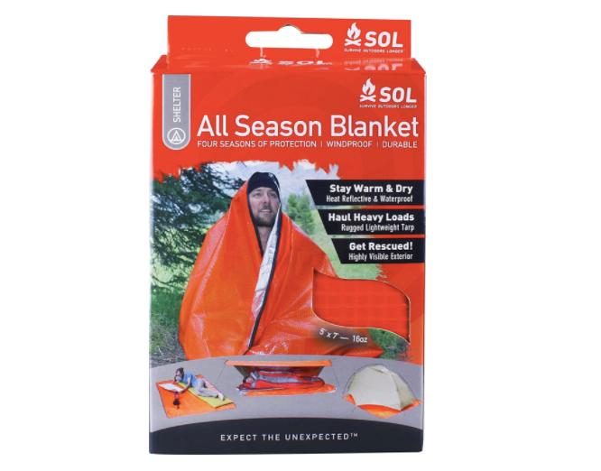 S.O.L. All-Season Space Blanket