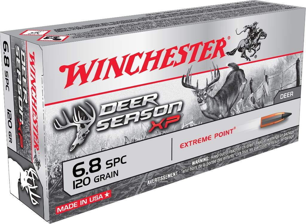 A box of Winchester Deer Season XP ammo