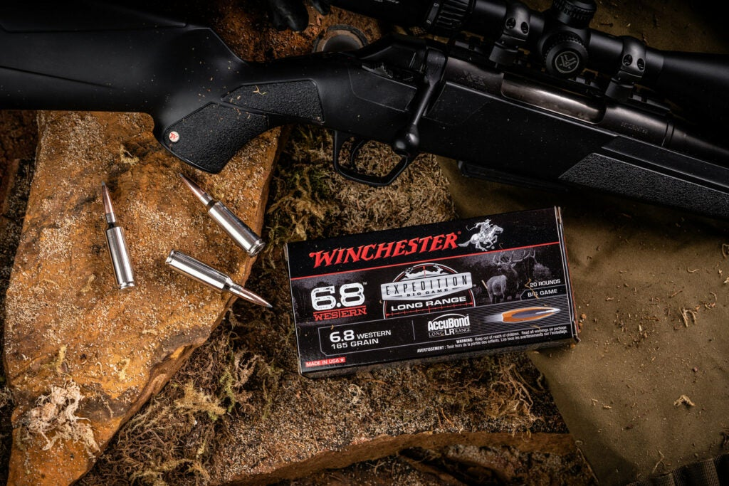 Winchester's new 6.8 Western rifle cartridge is a new hunting load for 2020.