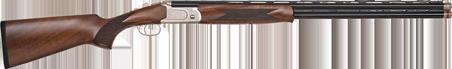 Mossberg over/under 12-gauge shotgun.