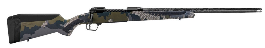 The Savage Arms 110 Ultralight Camo rifle