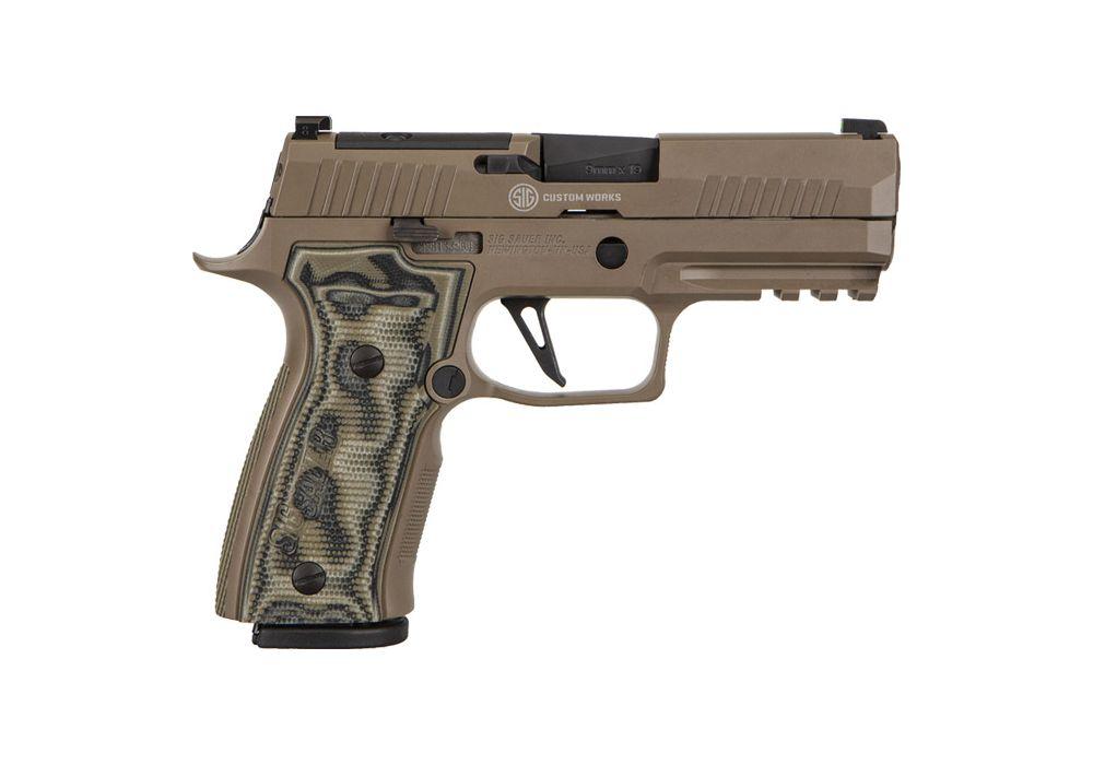 Sig Sauer handgun.