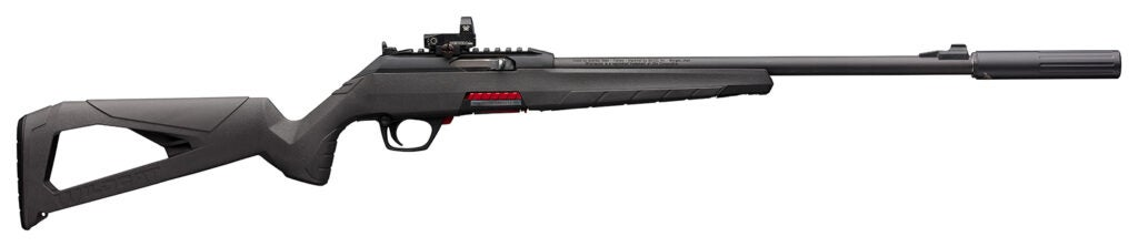 The Winchester Wildcat rifle.