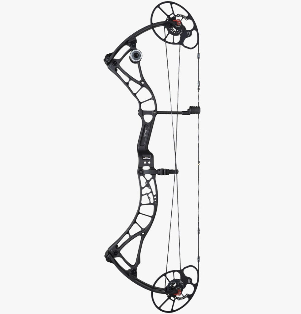 The Bowtech Solution SD compound bow.