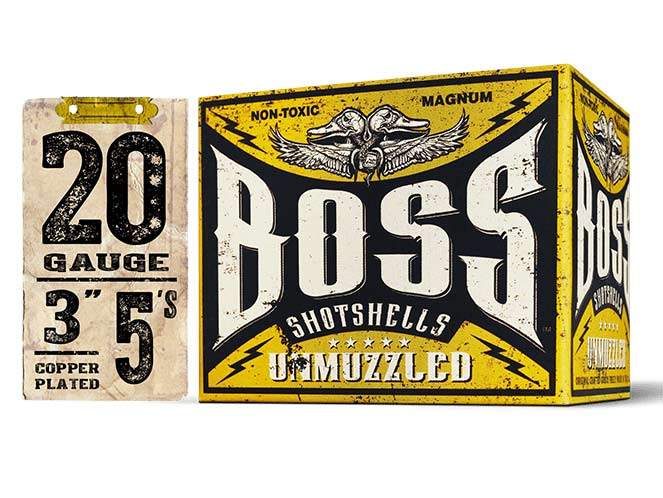 Nontoxic Alternative: Boss Copper-Plated Bismuth 20-Gauge 5s