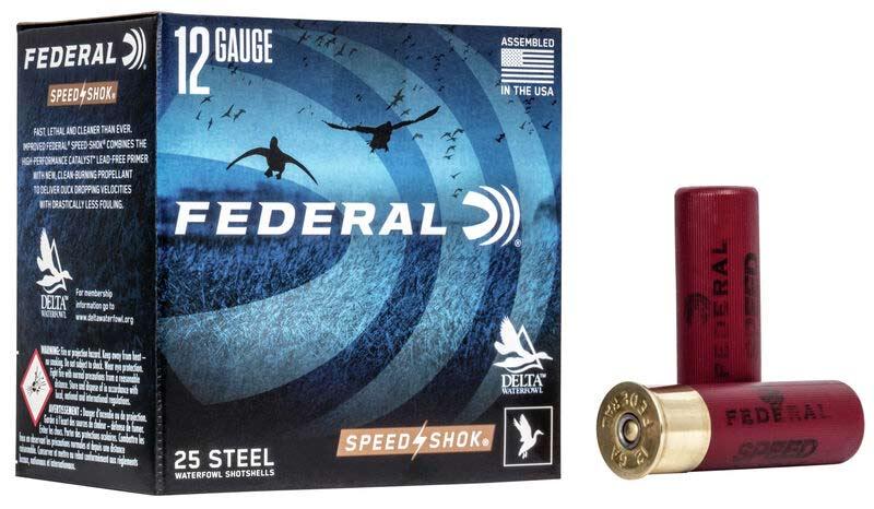 Federal Speed-Shok 12-Gauge No. 2 Steel