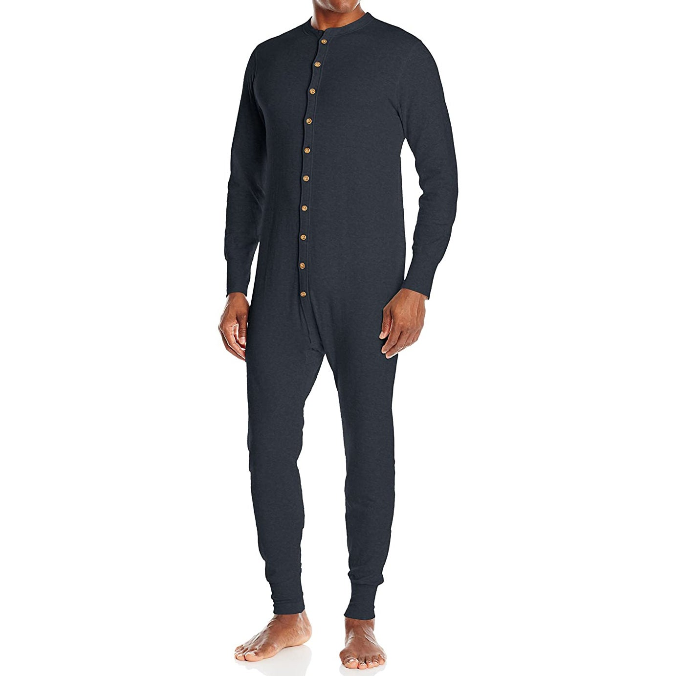 Duofold's Men's Mid Weight Double-Layer Thermal Union Suit