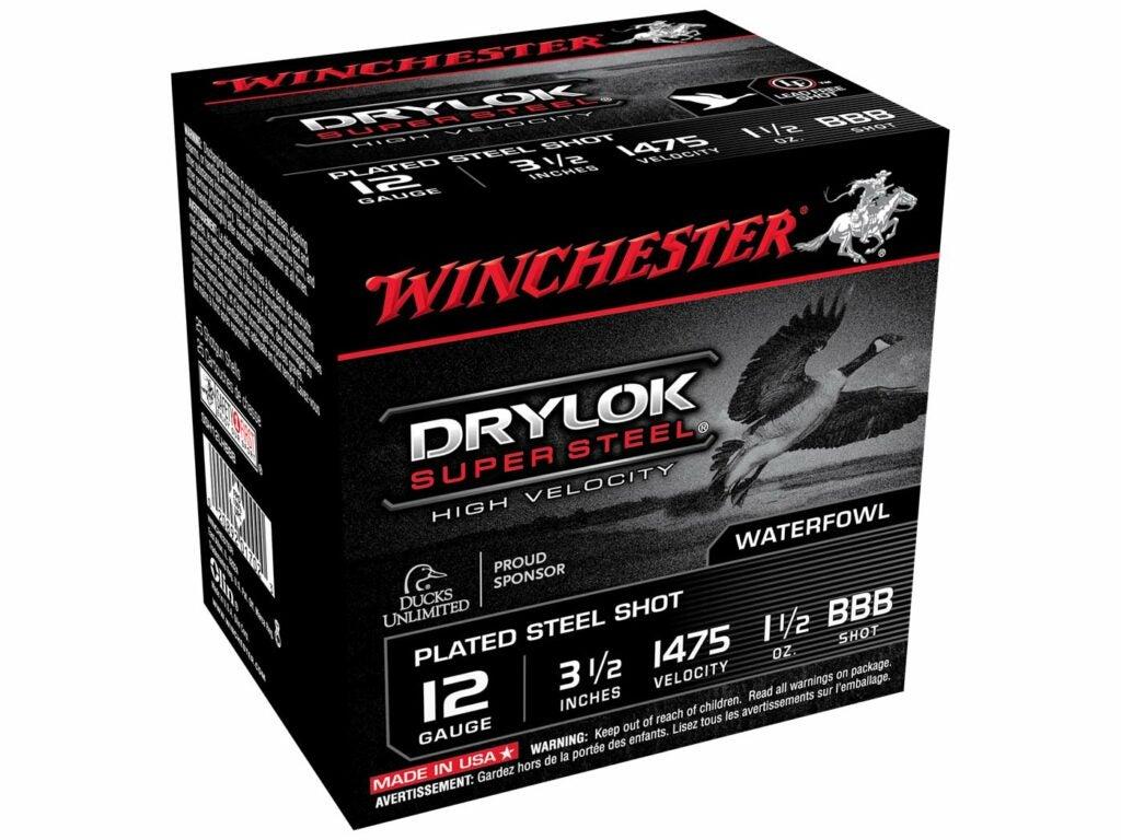 Winchester 12-Gauge DryLok Super Steel BB or BBB
