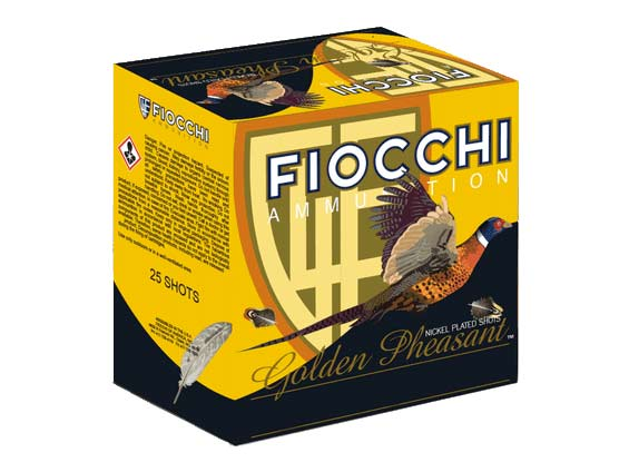 Fiocchi Golden Pheasant 12-Gauge 4s