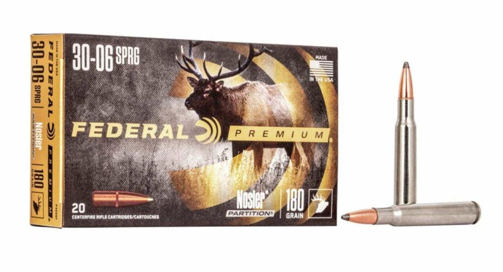 Federal Premium 180-grain Nosler Partition