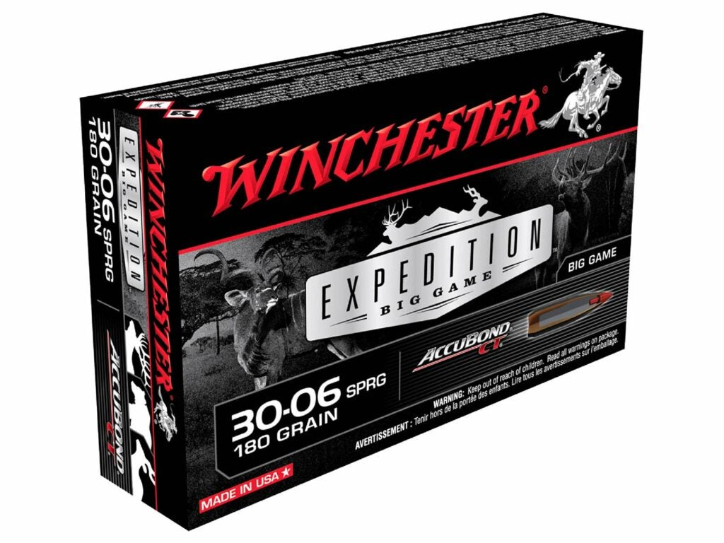 Winchester Expedition 180-grain AccuBond CT
