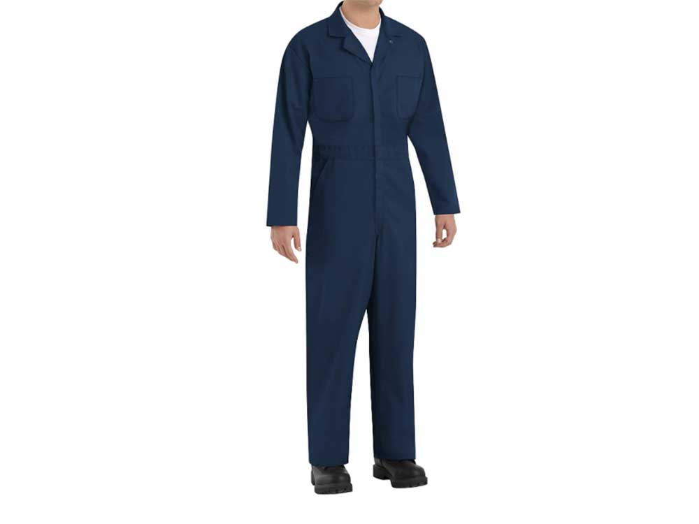 Red Kap Men's Twill Action Back Coverall Coat
