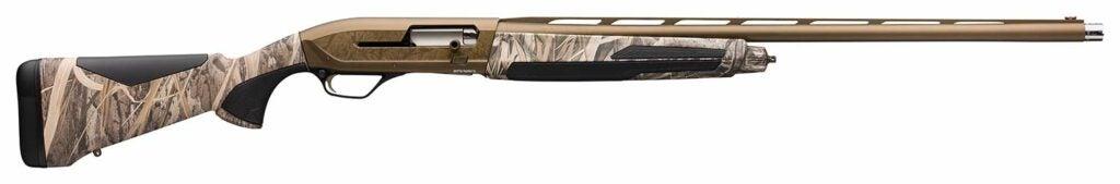 The Browning Maxus II Wicked Wing shotgun.