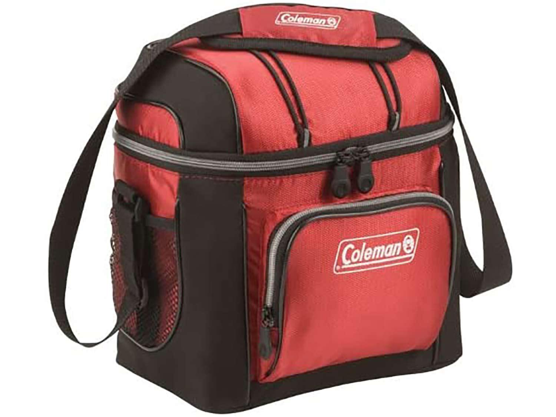 Red Coleman cooler