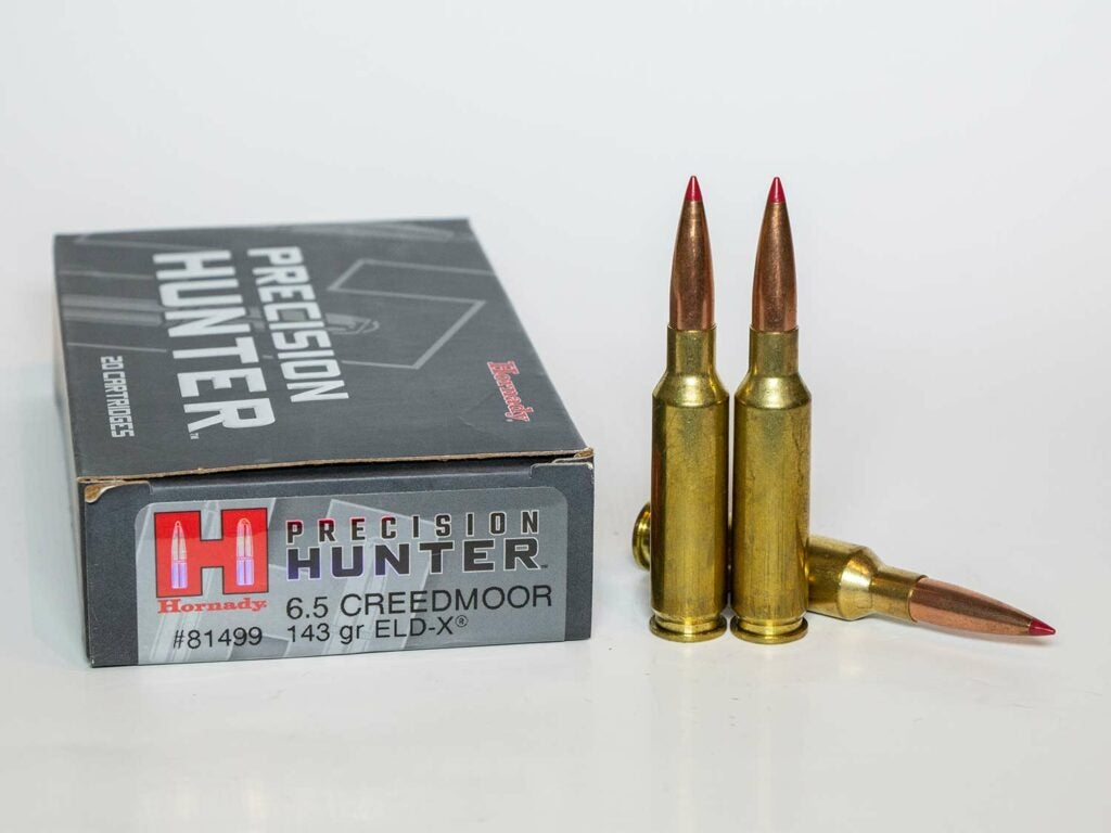 Hornady 143-Grain Precision Hunter 6.5 Creedmoor
