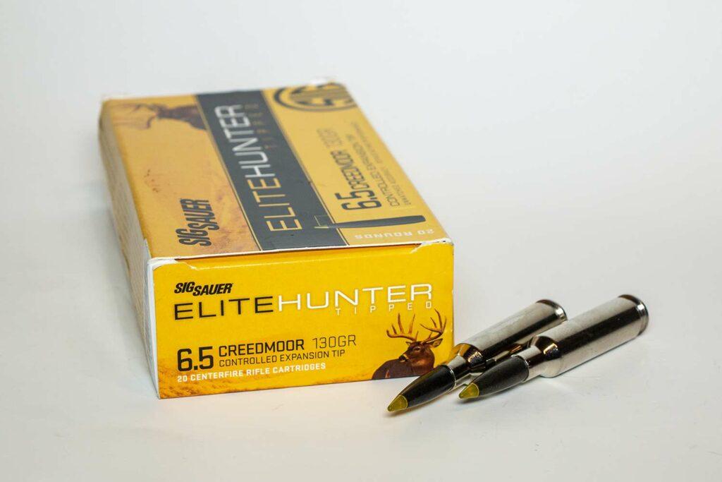 Sig Sauer 130-Grain Elite Hunter Tipped 6.5 Creedmoor