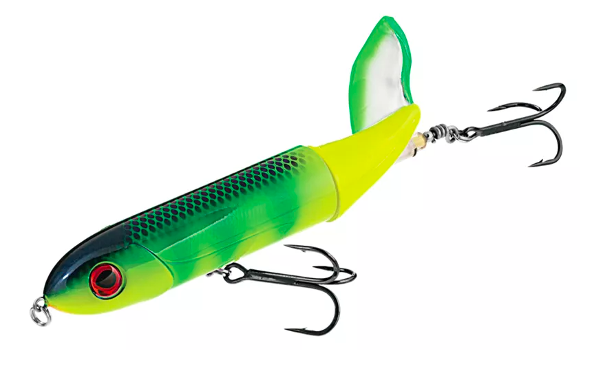 The Whopper Plopper topwater lure is one of the best bass lures.