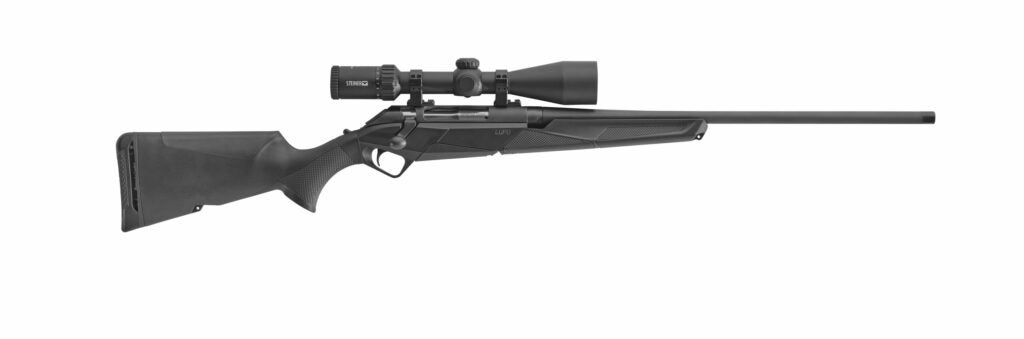 Benelli bolt-action rifle, the lupo.