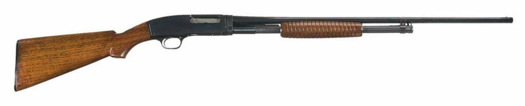 The Winchester Model 42 shotgun.