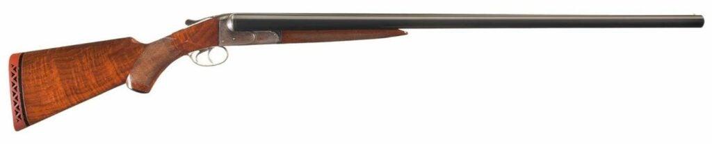 The Ithaca Double Field Grade 10 shotgun.