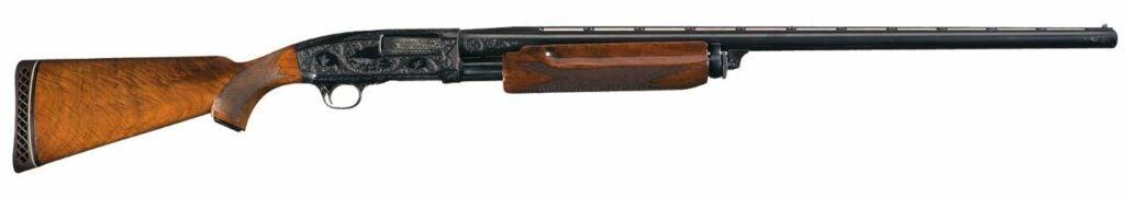 The Remington Model 31 shotgun.